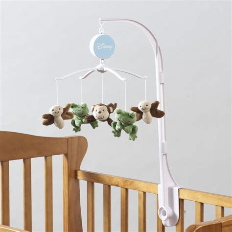 musical mobile for crib bedding by nojo infant s safari baby musical crib