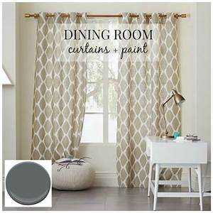 Modern Dining Room Curtains And Ideas For Trends Curtain