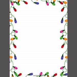 Printable Christmas Borders and Stationery