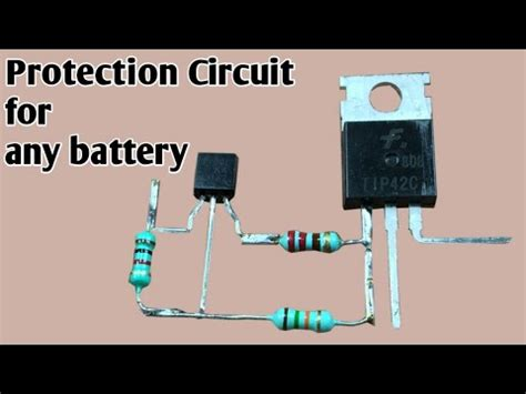 Battery Low Voltage Cutoff Circuit Protection