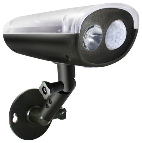 wireless solar motion sensor led security light