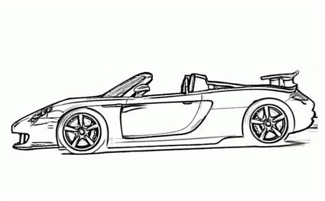 Porsche Car Coloring Pages Gt3  Free Online Cars Coloring