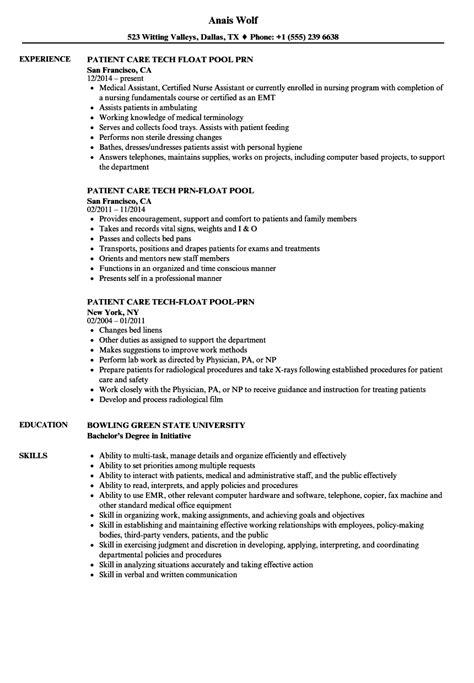 pool tech resume samples velvet jobs