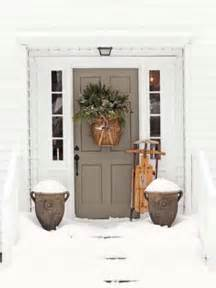 front door decor 30 spectacular front door decoration ideas for christmas and winter holidays