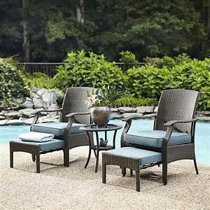 Blue Cushion Outdoor Furniture