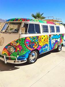 Combi Vw Hippie : let 39 s get perfectly lost hippie van art vw bus hippie painting art cars ~ Medecine-chirurgie-esthetiques.com Avis de Voitures