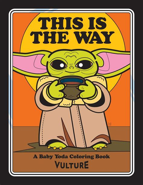 The Unofficial Baby Yoda Coloring Book in 2020 | Coloring ...