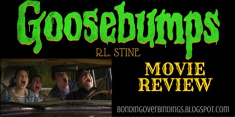Goosebumps The Movie Review And Our 2nd & Charles Book
