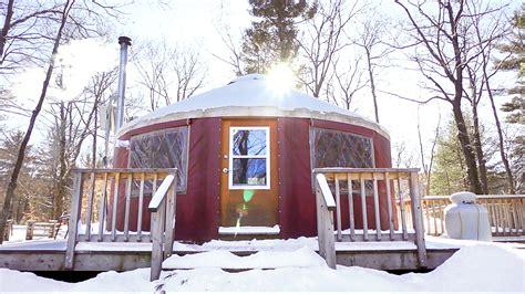 grid yurt rentals  outdoor enthusiasts  quebec