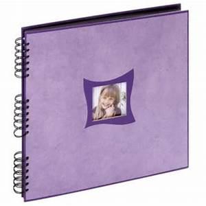 Album Photo Traditionnel à Coller : panodia album photo traditionnel zinia violet 33x33 cm 60 ~ Melissatoandfro.com Idées de Décoration