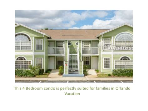 4 Bedroom Rental Homes by 4 Bedroom Vacation Rental Home In Orlando