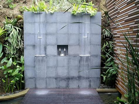 Outdoor Showers : 50 Stunning Outdoor Shower Spaces That Take You To Urban