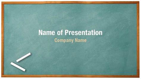Green Chalkboard Powerpoint Templates
