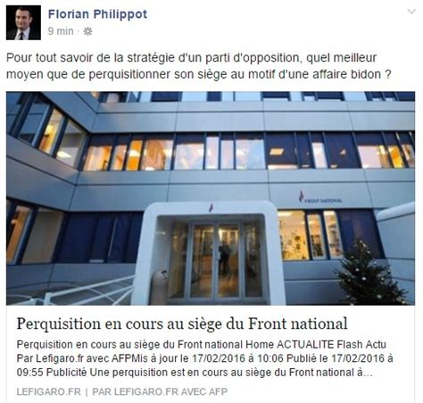 siege du front national perquisition au si 232 ge du front national egalite et