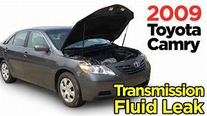 Toyota Camry Transmission Fluid Leak From Radiator 2007