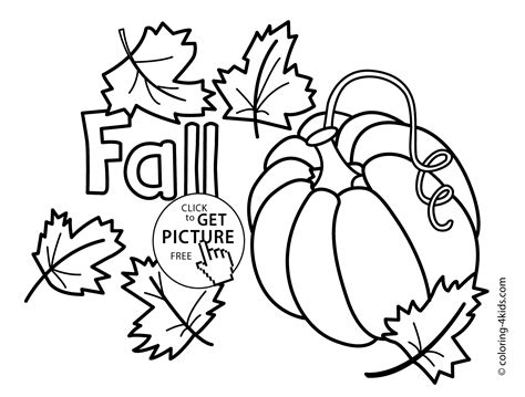 autumn coloring pages  pumpkin  kids seasons coloring pages printable  coloing