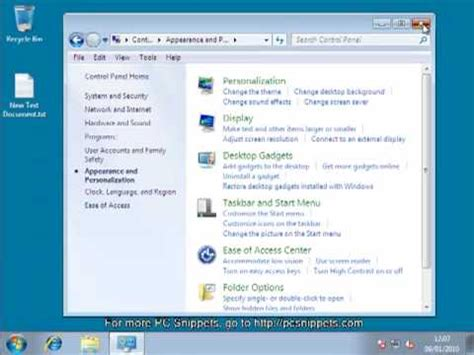 how to turn on file extensions in windows 7