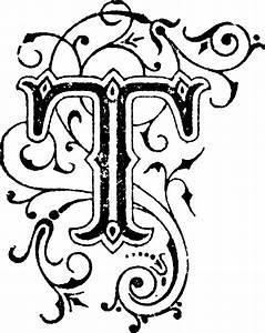 T, Letter   ClipArt ETC