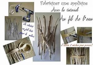 Bois Flotté Décoration Murale : fabriquer une applique murale en bois flott crafts diy driftwood et home art ~ Melissatoandfro.com Idées de Décoration