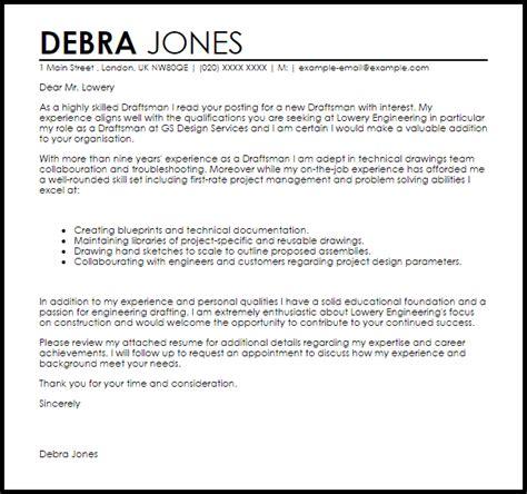 engineer cover letter draftsman resume sle resume