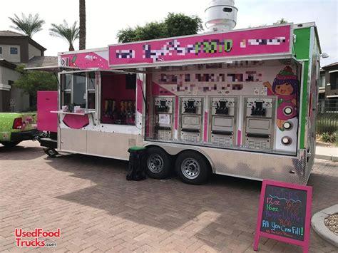 mobile frozen yogurt shop soft serve