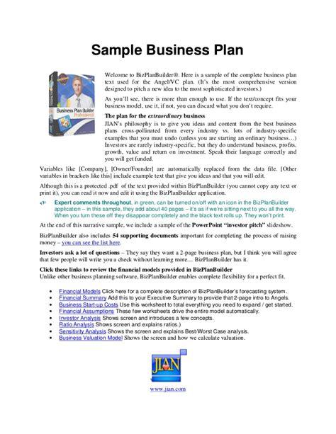 business plan rsum exemple aptitudes d un entrepreneur business plan sle