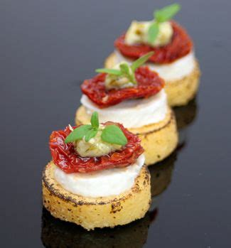 goats cheese canape recipes 25 best ideas about canapes ideas on tapas