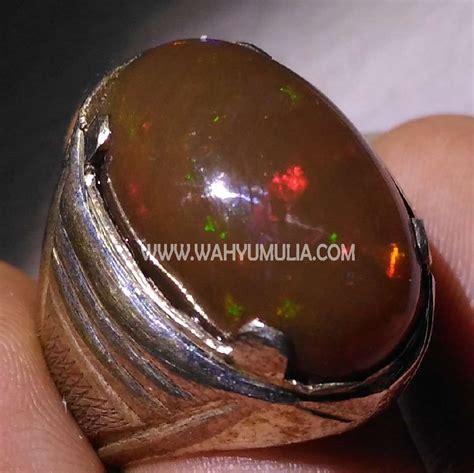 batu cincin kalimaya opal banten kode 371 wahyu mulia