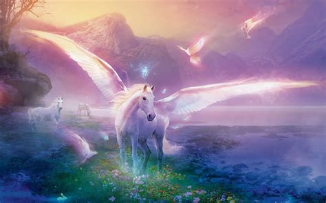hd unicorn wallpapers wallpapersafari
