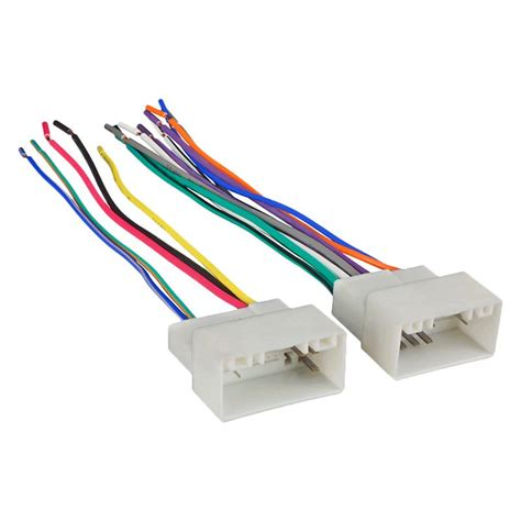 Metra Wiring Harness With Oem Plugs