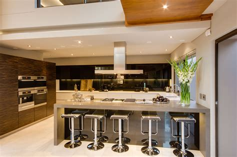kitchen modern design beautiful modern open kitchen designs with counter island 2313