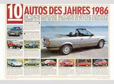 Autos des Jahres AUTO BILD ArchivArtikel 521986