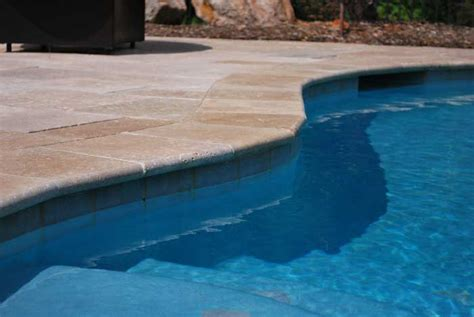 travertine pool deck qualities making great pool decks