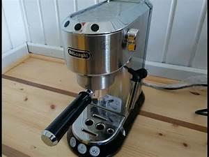 Delonghi Ec 685 M Dedica : espressomaschine delonghi dedica ec 680 im test youtube ~ Frokenaadalensverden.com Haus und Dekorationen