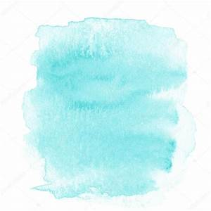Abstract light blue watercolor background — Stock Photo