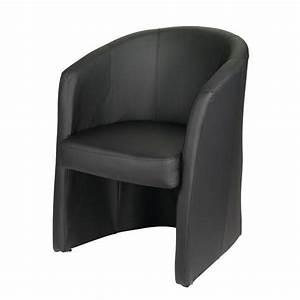 Fauteuil Club Alinea : lounge fauteuil noir ~ Melissatoandfro.com Idées de Décoration