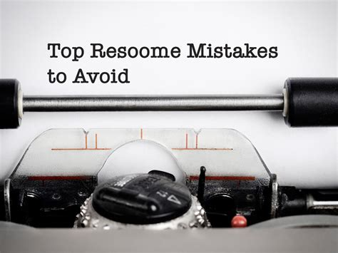 Top Resume Mistakes To Avoid by Top Resume Mistakes To Avoid Adecco Australia