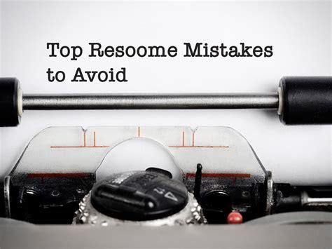 top resume mistakes to avoid adecco australia