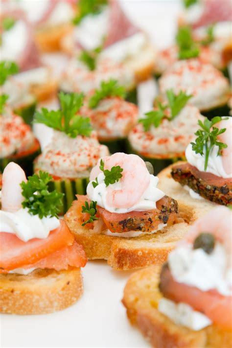 appetizer canape salmon canapes recipe dishmaps