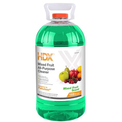 all purpose cleaner hdx 169 oz mixed fruit all purpose cleaner hdx169mf the