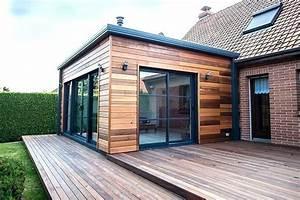 Prix M2 Extension Maison Parpaing : agrandissement maison en kit extension bois prix 13 maison ossature bois ossature auto ~ Melissatoandfro.com Idées de Décoration
