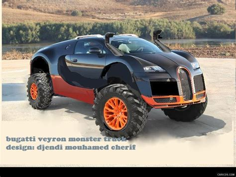 Bugatti Veyron Monster Truck Design By Djendi Mouhamed