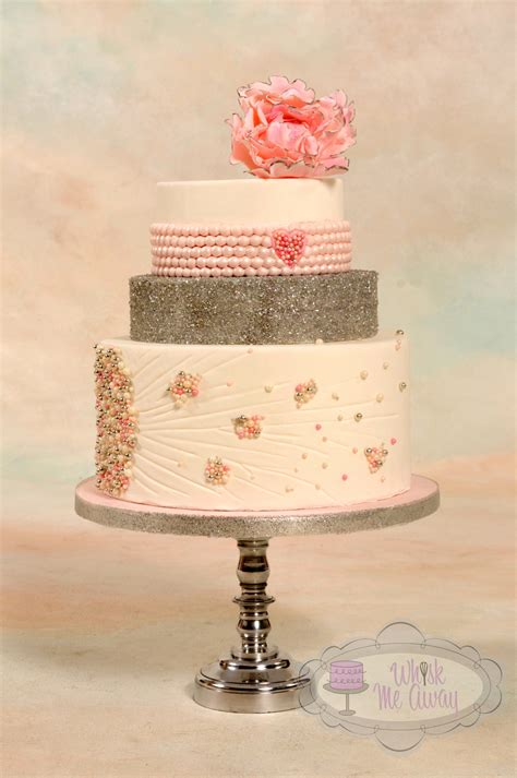 Top 30+ Cakes With Elegant Pearls  Page 15 Of 40