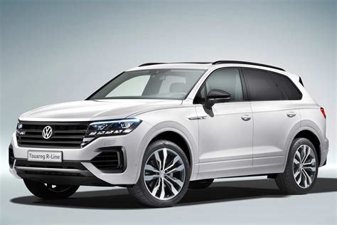 vw touareg unveiled  world debut  china