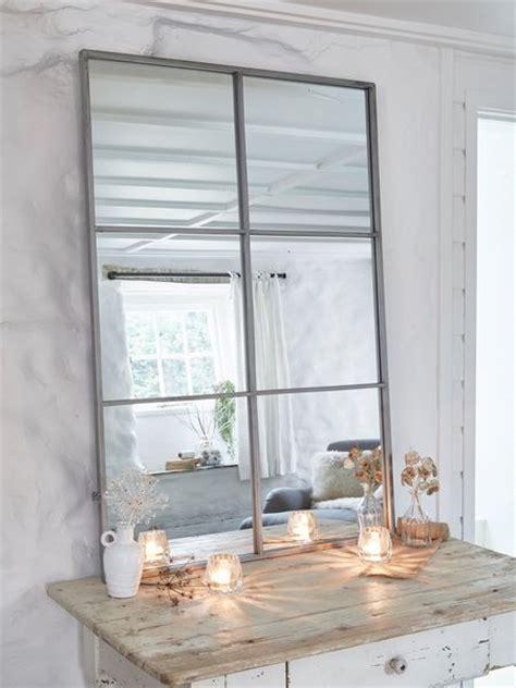 Loft Style Window Mirror   Industrial Panel Mirror