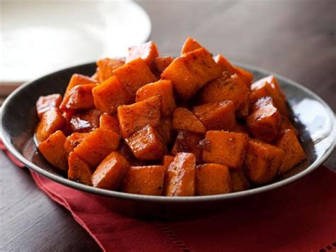 what to make with sweet potatoes roasted sweet potatoes with honey and cinnamon recipe tyler florence food network
