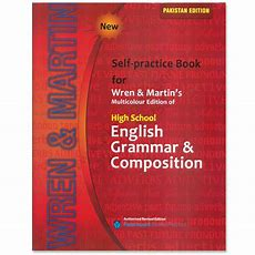 Self Practice Book For Wren & Martin's English Grammar & Composition 2016  Cbpbook Pakistan's