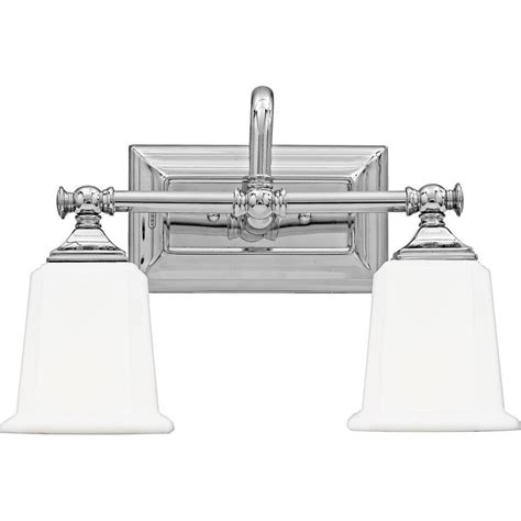 quoizel 2 light nicholas bath fixture in polished chrome