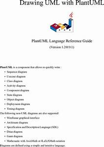 Plantuml Language Reference Guide Plant Uml En