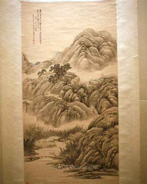 shanghai museum pictures chinese painting gallery